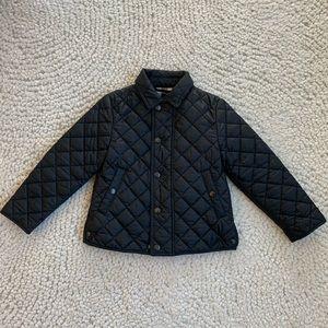 Burberry Black Jacket Girls Size 4